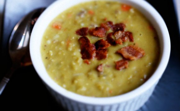 Slow Carb Split Pea Soup