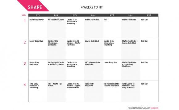 Week 4 Workout: