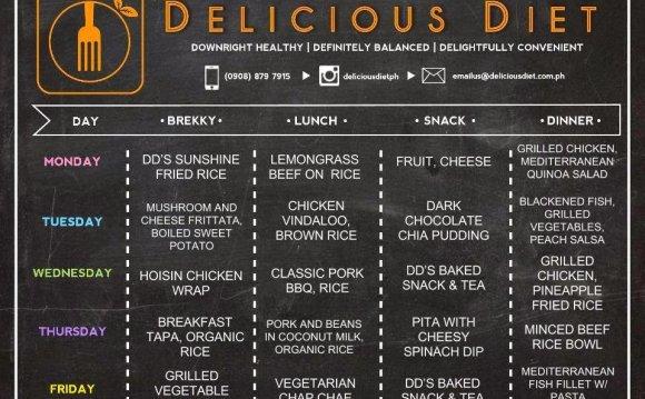 Delicious Diet Healthy Food