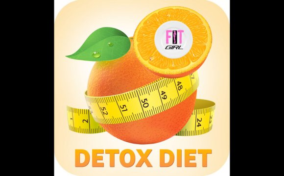 Detox Diet: Fit Girl on the