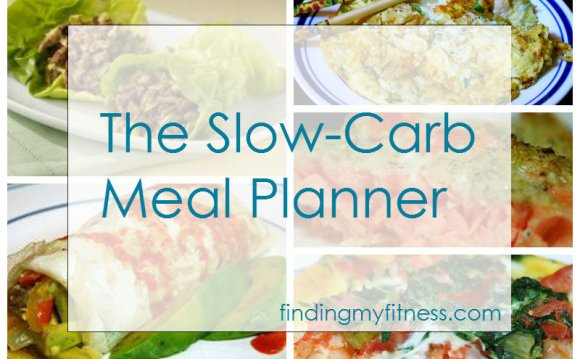 Check out the Slow-Carb Meal