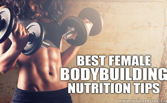 Female bodybuilding nutrition