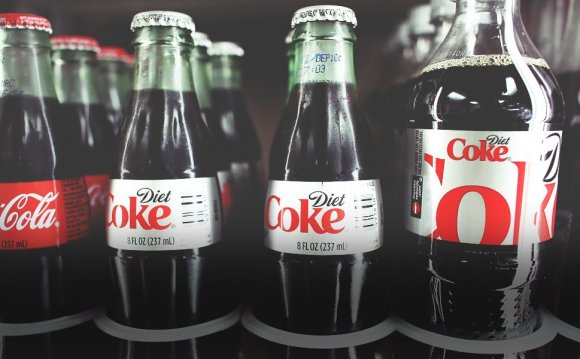 Losing weight with diet soda