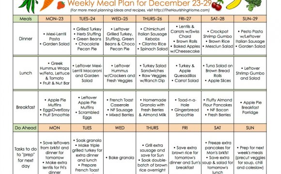 New Meal Plan 63a