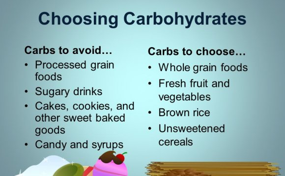 Choosing Carbohydrates Carbs