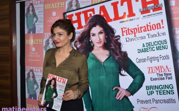 Raveena Tandon At Health And