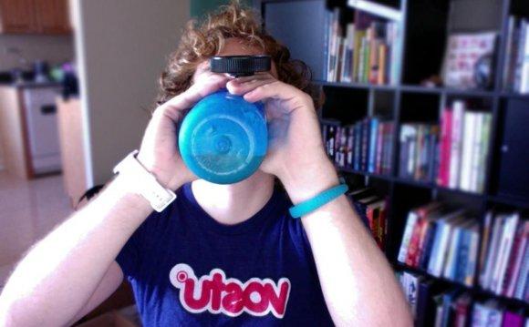 Shane Drinking Soylent