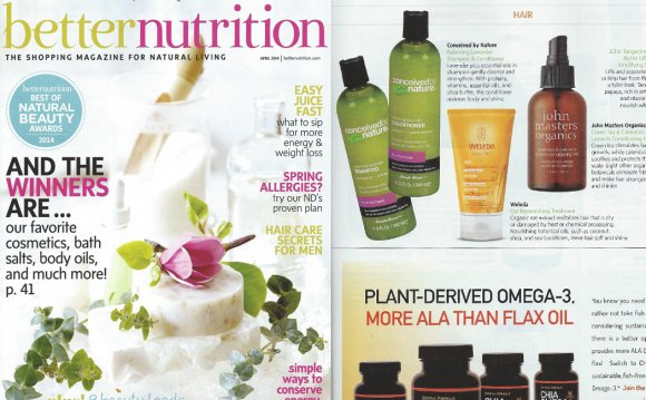 Better Nutrition Magazine!