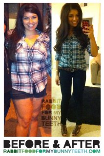 Before and After Weightloss Blog