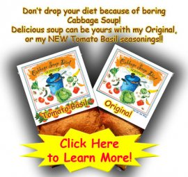 Cabbage Soup Diet Seasoning Packs
