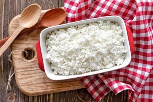 cottage cheese is high in protein