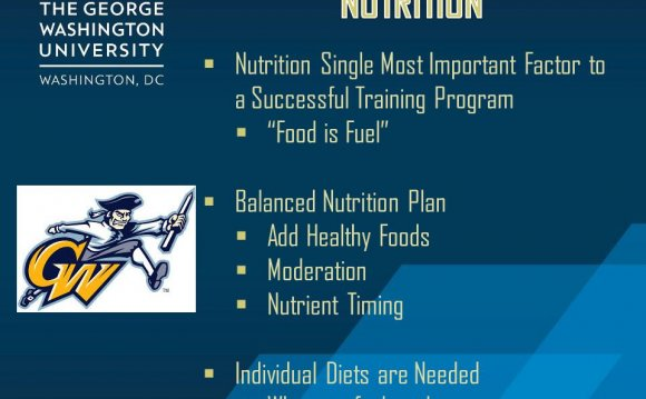 Balanced Nutrition plan