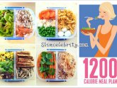 1200 calories vegetarian diet Menu