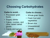 Carbs to avoid