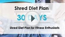 30 Day Shred Diet Plan for fitness enthusiasts - Life With