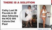 500 Calorie Diet- Safely Use a 500 Calorie Diet