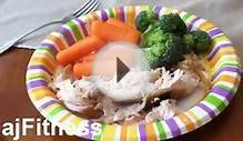 ajFitness Daily Meal Plan: Lunch/Dinner