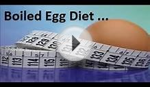 Boiled Egg Diet to lose Weight Fast up to 7 kilos in 7 days