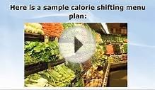 Calorie Shifting - Sample Menu Plans for the Calorie Shiftin