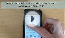 Diet Planner per iPhone: ricerca alternative ai pasti