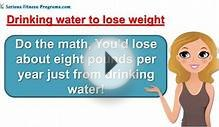 Drinking Water To Lose Weight, The Water Diet