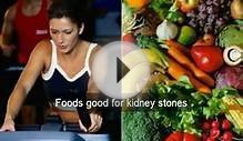 Eat foods good for kidney stones. Kidney diet secrets plan
