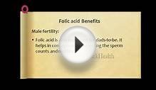 Folic acid Benefits Male fertility - Nutrition Tips