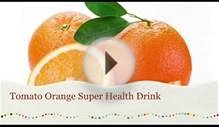 Food diet to lose weight Tomato Orange Drink Anti Cancer Juice