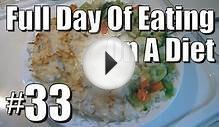 Full Day of Eating on a Diet #33 [1,500 Calories]