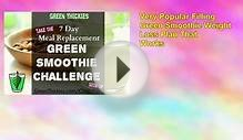 Green Smoothie 7 Day Detox Diet Plan: Lose Weight And Feel