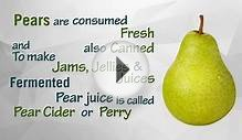 Healthwise: How Many Calories in Pear? Diet Calories
