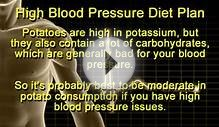 High Blood Pressure Foods and Diet Plan