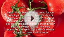 |How to Lose Weight on healthy Tomato Diet| |HD|
