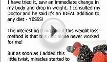 Lose 10 Pounds Fast: 7-Day Weight Loss Miracle Diet Proves