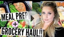MEAL PREP FOR WEIGHT LOSS!! Easy & Affordable Ideas
