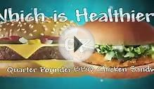 Nutrition Eat Right With Fast Food - McDonalds