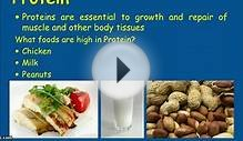 Nutrition for healthy Living - Macronutrients