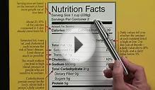 Nutritional Calculations : How to Read Food Labels for