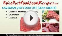 Paleo Diet Eating Plan - Quick Weight Loss Diets