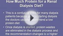 Renal Dialysis Diet Is Easy To Follow With a Meal Plan